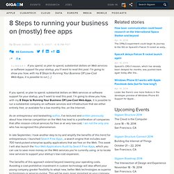 8 Steps to running your business on (mostly) free apps « FoundRead