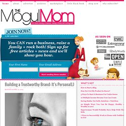 The Mogul Mom | For moms running a business, raising a family and rocking both