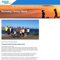 RUNNING CAMPS ROCK - SWEAT