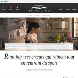 Running : ces erreurs qui ruinent tout en rentrant du sport