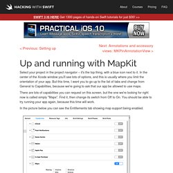 Up and running with MapKit - a free Hacking with Swift tutorial