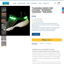 Buy Running Lights for Shoes – Jogging Night Time Lights