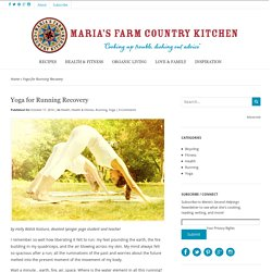 Yoga for Running Recovery