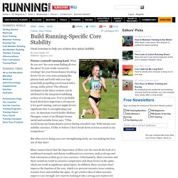 Build Running-Specific Core Stability