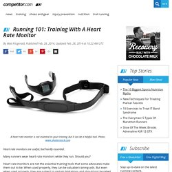 Running 101: Training With A Heart Rate Monitor