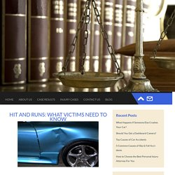Hit and Runs: What Victims Need to Know
