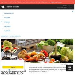 Suomalaiset mukaan ratkomaan globaalin ruokatuotannon tulevaisuutta