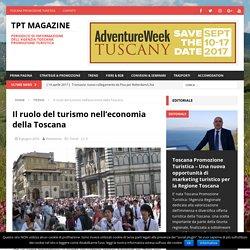 Il ruolo del turismo nell'economia della Toscana