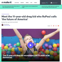 RuPaul: drag kid Desmond Is Amazing is 'the future of America'