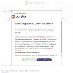 Rupture de stage : comment rompre une convention de stage ?