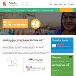 Good Rural Development NGO in India