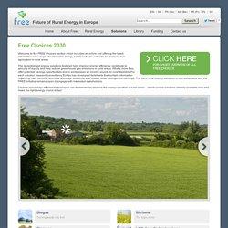 Rural Energy - Free Choices 2030
