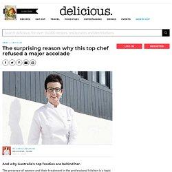 Top chef Carme Ruscalleda turns down major food award - News + Articles - delicious.com.au