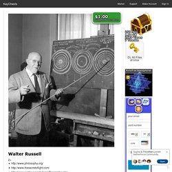 Walter Russell by holofractalexplorer