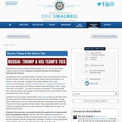 Russia: Trump & His Team's Ties