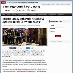 Friday 13th Paris Attacks Masonic Ritual - Notre Dame = location of Jacques DeMoly burning