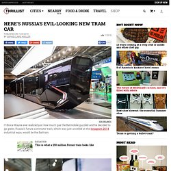 Russia One Tram (R1) - Future Commuter Train Dubbed as 'iPhone on Rails'