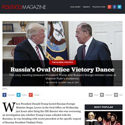 Russia's Oval Office Victory Dance