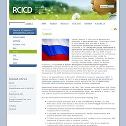 Russia — RCICD.org