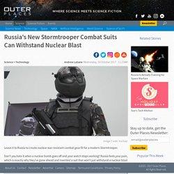 Russia's New Stormtrooper Combat Suits