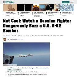Russian Fighter Jet Intercepts American B-52 Bomber: Watch Video