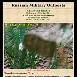 Russian Military Outposts Odessa, Ukraine Old SAM Missile Site