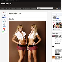 Russian Sexy Twins