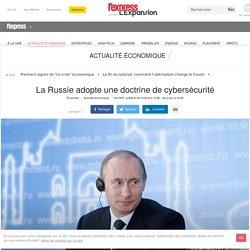 La Russie adopte une doctrine de cybersécurité