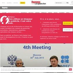 La Russie dans l'expectative face à l'accord de l'Opep sur le pétrole