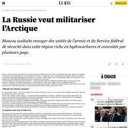 La Russie veut militariser l'Arctique - 27 mars 2009