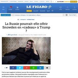La Russie pourrait-elle offrir Snowden en «cadeau» à Trump ?