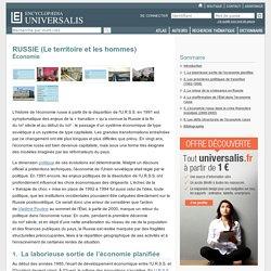 RUSSIE (Le territoire et les hommes) - Économie