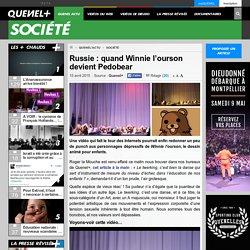 Russie : quand Winnie l'ourson devient Pedobear