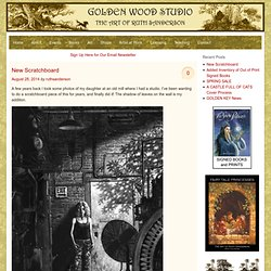 Ruth Sanderson's Golden Wood Studio - Welcome