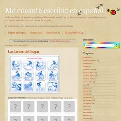 Me encanta escribir en español: la rutina