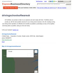 drivingschoolsoftwareuk, 2 Rutlish Road,, , Corporation of London, Greater London, SW19 3AL, United Kingdom
