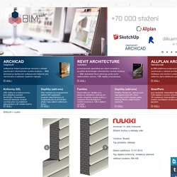 BIMsoft - Výroba BIM objektů