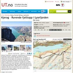 Kjerag – Ruvende fjelltopp i Lysefjorden - Tur