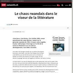 Le chaos rwandais dans le viseur de la littérature