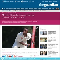 Meet the Rwandan teenager playing cricket in Africa's T20 Cup