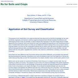 Rx for Soils and Crops