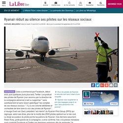 Ryanair réduit au silence ses pilotes sur les réseaux sociaux