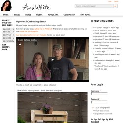RyobiNATION Potting Bench - DIY Projects