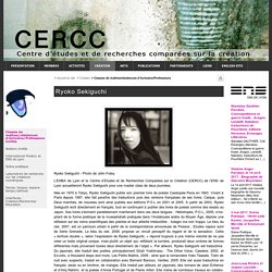 Ryoko Sekiguchi - CERCC