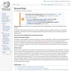 Ryszard Kaja - Wikipedia
