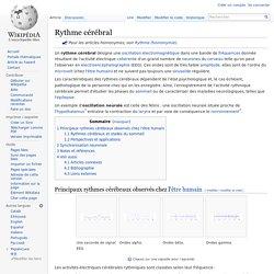 Rythme cérébral