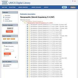 UMCS Digital Library - Rzeczpospolita i Dziennik Gospodarczy. R. 4 (1947)