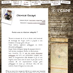 S'CAPE-Chemical Escape