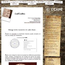 S'CAPE-Cod'Codec
