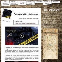S'CAPE-Desaparición Misteriosa